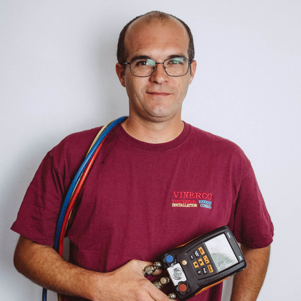 Nicolas, Technicien de Maintenance Vinerco 71