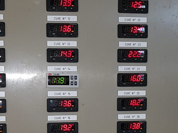 tableau de thermorégulation
